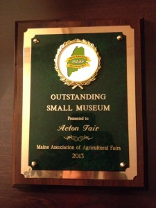 Small Museum award